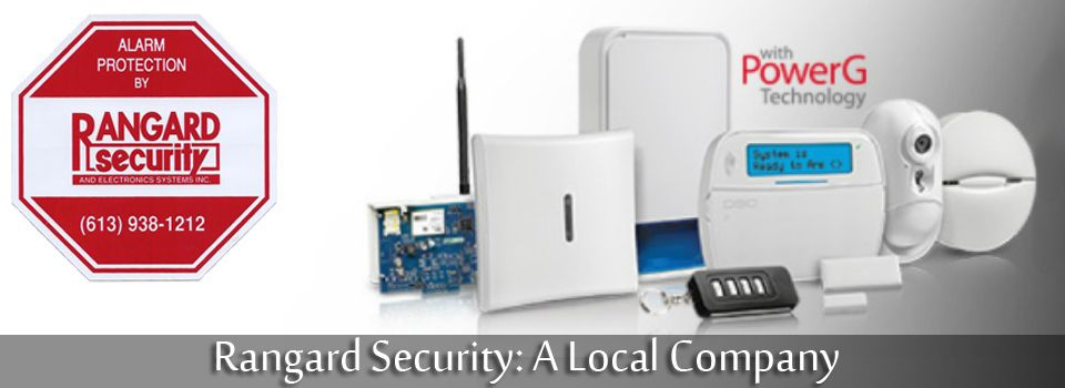 Rangard Security: A Local Company - Alarm system with PowerG technology