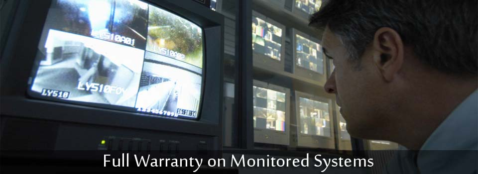 Full Warranty on Monitored Systems