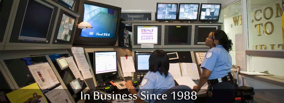 In Business Since 1988 - Security office