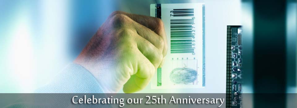 Celebrating our 25th Anniversary - Card access